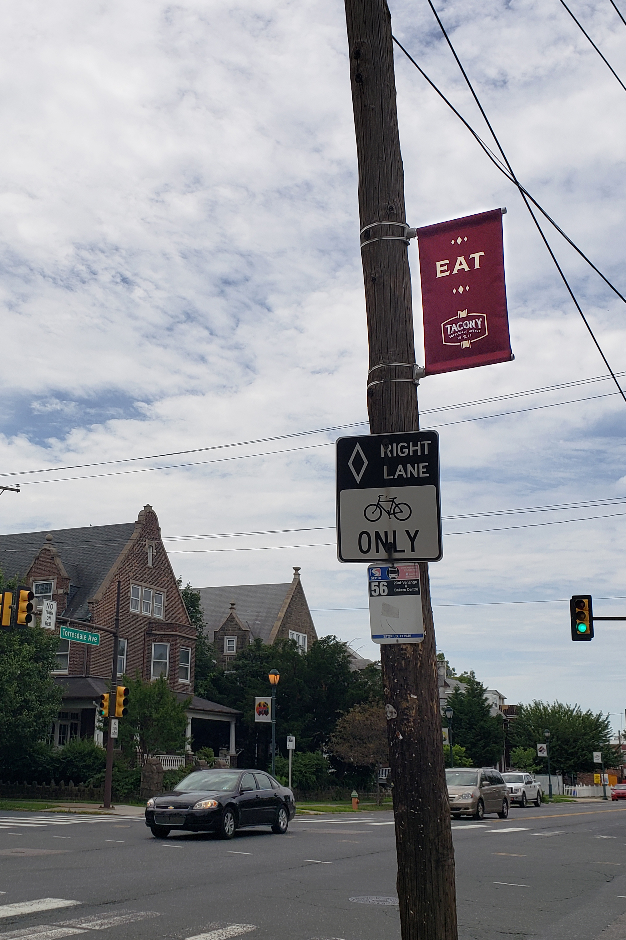 New Banners for Torresdale Avenue